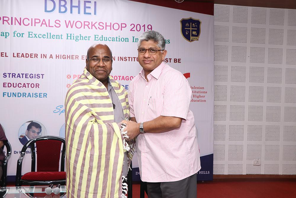DBHEI Principals Workshop 2019